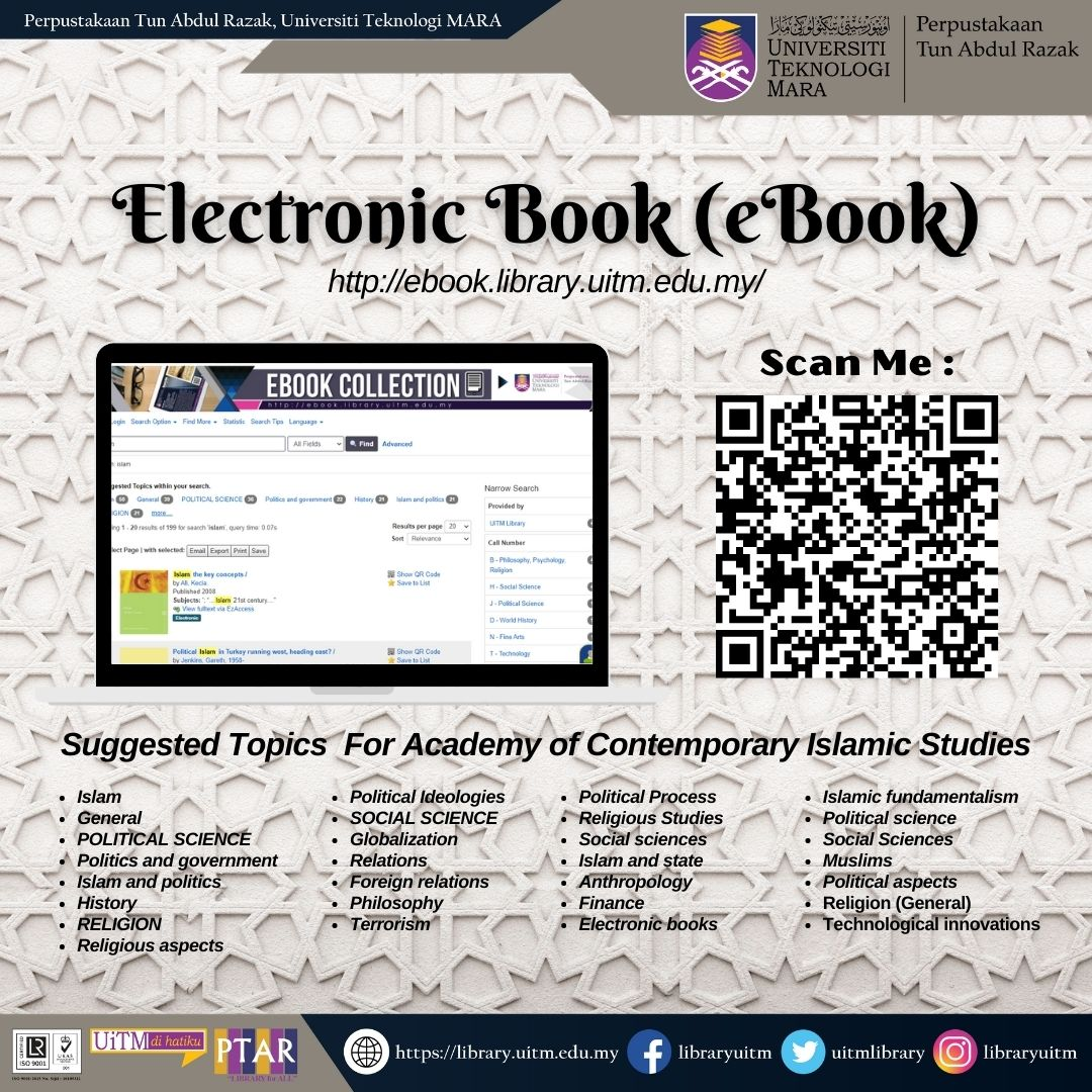 Discover our eResources on Academy of Islamic Contemporary (ACIS) eBook