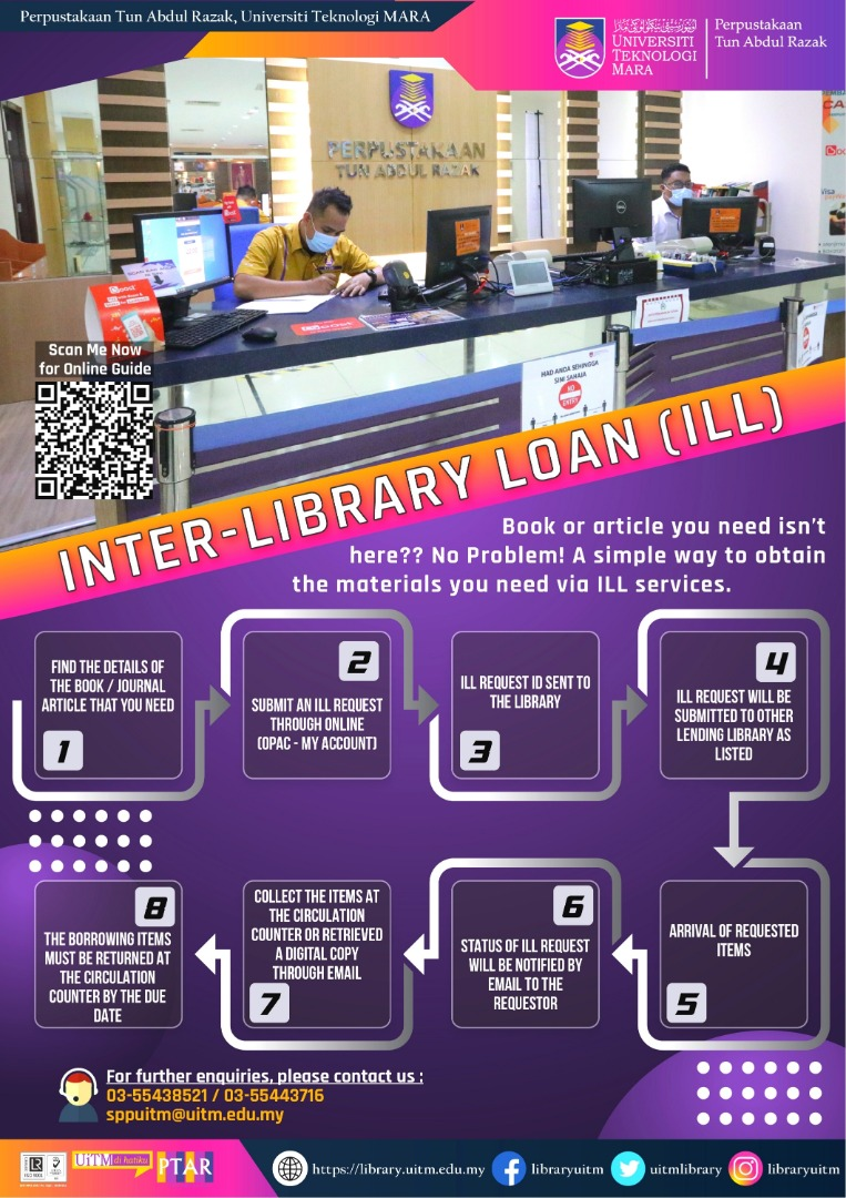 Inter-library loan (ILL)