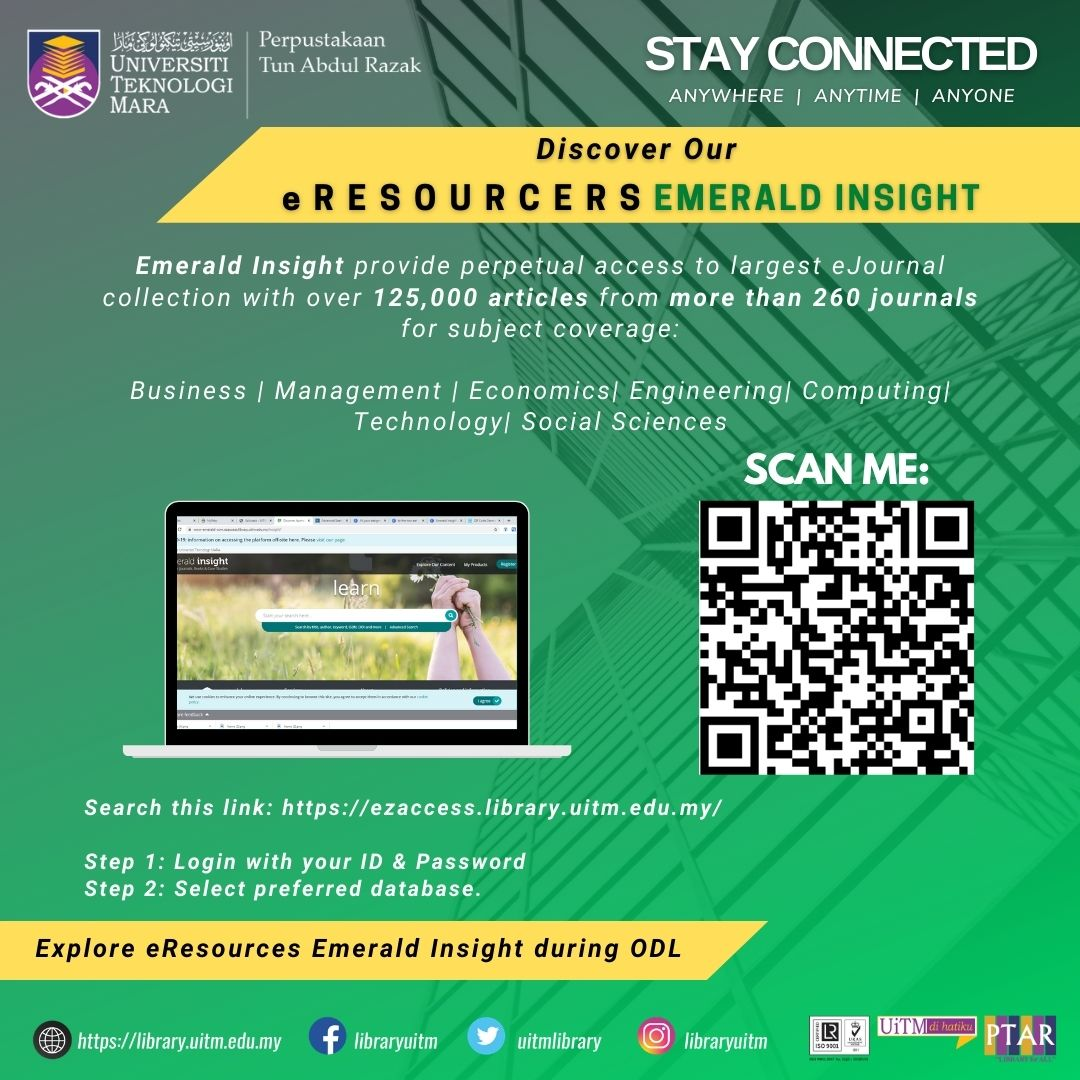 Discover Our eResources : Emerald Insight