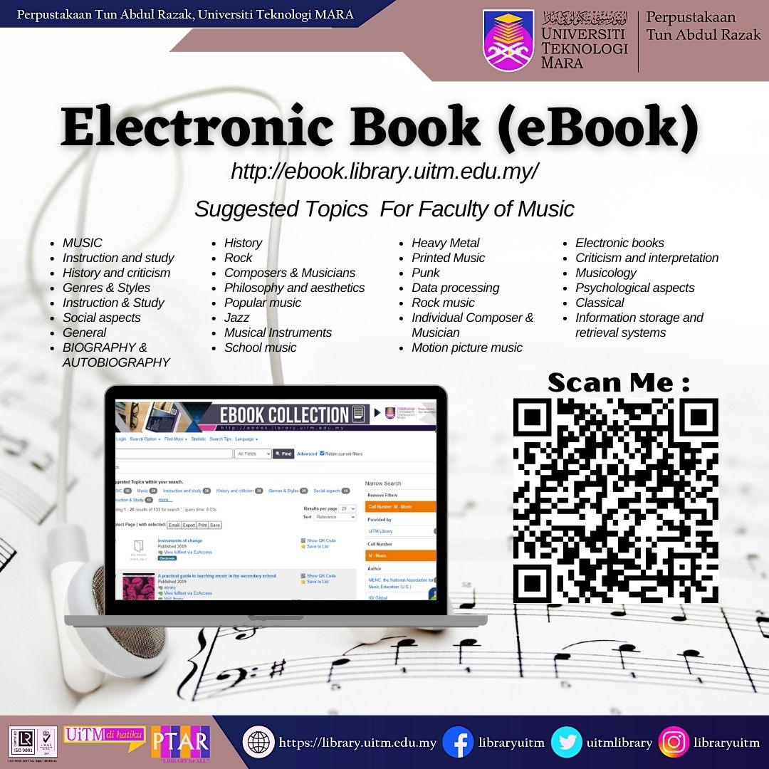 Discover our eResources on Faculty of Music eBook